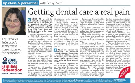 raf news dental