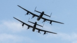 2 Lancaster Bombers Fly Together for First Time in 50 Years.