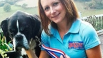 Jen Ives with Pablo the boxer dog wearing his Grippy Lead.
