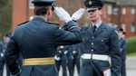 First RAF Reservist Graduating at Recruit Training Squadron 02-12-14